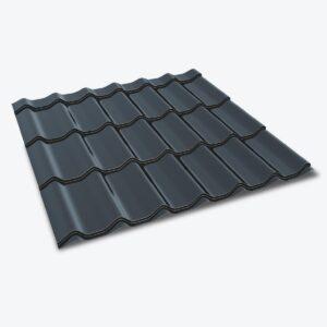 Itališka plieninė stogo danga